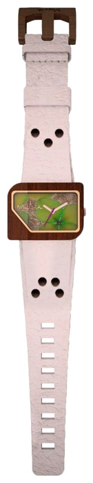 Wrist unisex watch Mistura TP10013WHTKGFSE - picture, photo, image