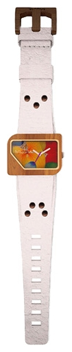 Wrist unisex watch Mistura TP10013WHTKMFSE - picture, photo, image