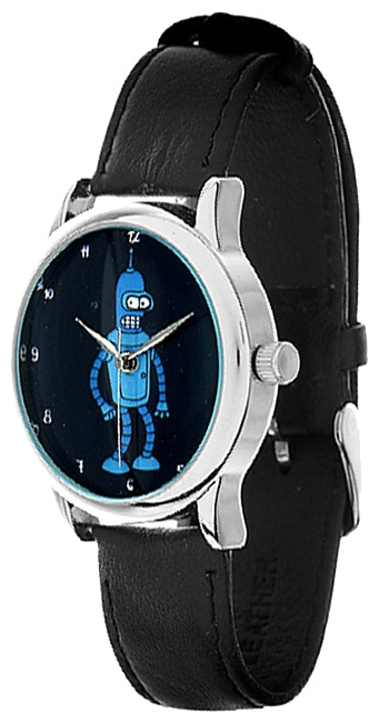 Wrist unisex watch Mitya Veselkov Bender v temnote - picture, photo, image