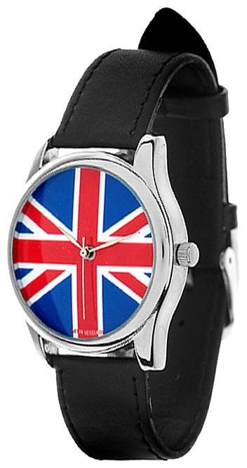 Wrist unisex watch Mitya Veselkov Britanskij flag - picture, photo, image