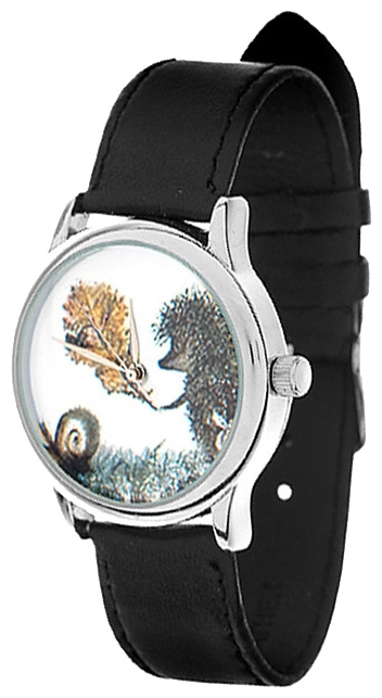 Wrist unisex watch Mitya Veselkov Ezhik c listochkom - picture, photo, image