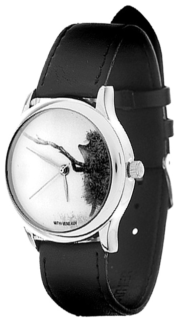 Wrist watch Mitya Veselkov Ezhik s vetochkoj for women - picture, photo, image