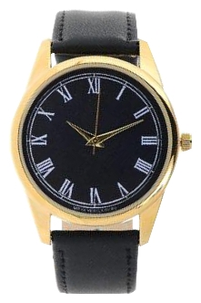 Wrist watch Mitya Veselkov Kuranty na chernom (Gold-11) for Men - picture, photo, image