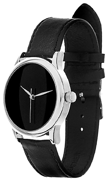 Wrist unisex watch Mitya Veselkov Strogij chernyj - picture, photo, image