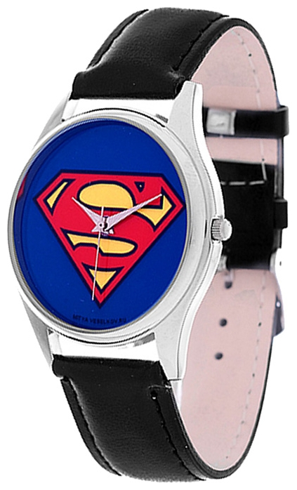 Wrist unisex watch Mitya Veselkov Superman - picture, photo, image