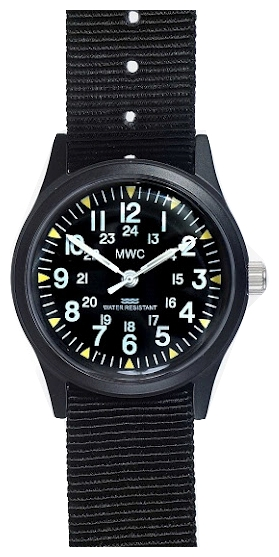 Wrist watch MWC NAM/BLK/MET for Men - picture, photo, image