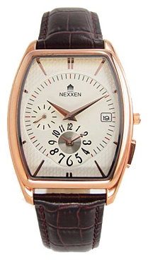 Wrist watch Nexxen NE6811M RG/SIL/BRN for Men - picture, photo, image