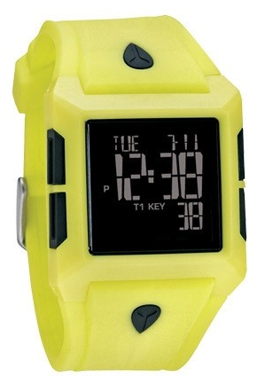 Wrist unisex watch Nixon Answer Lime/Black - picture, photo, image
