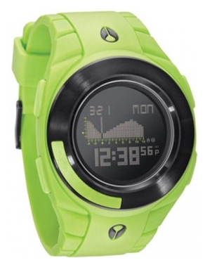 Wrist unisex watch Nixon Outsider Tide Lime - picture, photo, image
