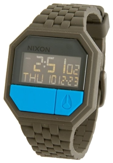 Wrist unisex watch Nixon Rubber Re-Run Drab - picture, photo, image