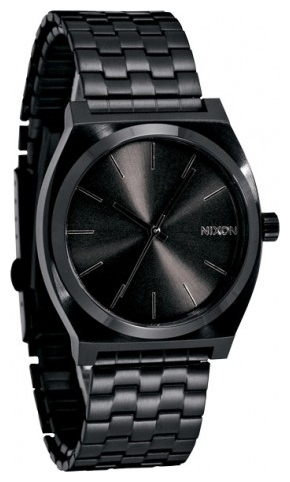 Wrist watch Nixon Time Teller All Black for Men - picture, photo, image