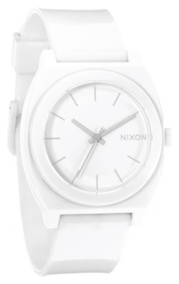 Wrist unisex watch Nixon Time Teller P White - picture, photo, image
