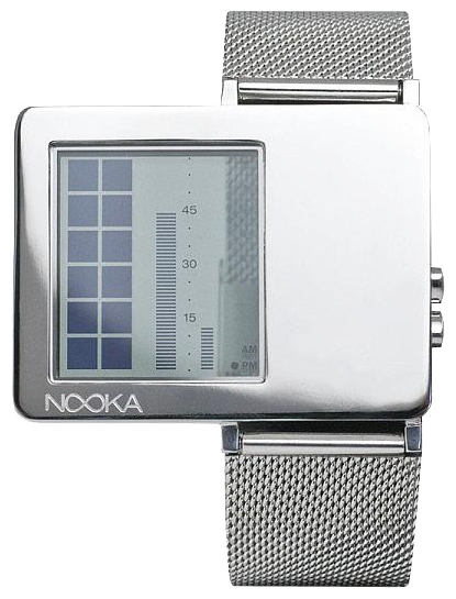 Wrist unisex watch Nooka Zaz Mirror Mesh - picture, photo, image
