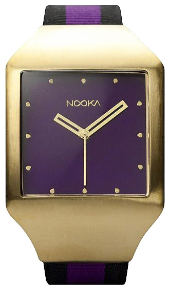 Wrist unisex watch Nooka Zeel Zan 20 Eggplant - picture, photo, image