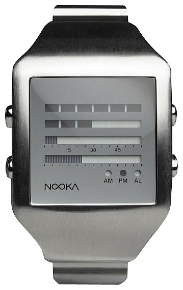 Wrist unisex watch Nooka Zeel Zen-H 20 Mirror - picture, photo, image