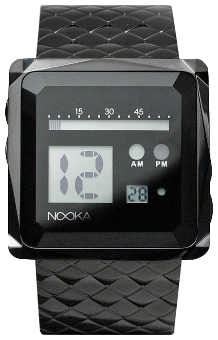 Wrist unisex watch Nooka Zem Zoo Night Steel - picture, photo, image