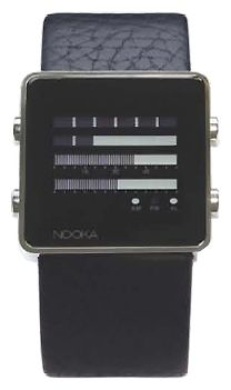 Wrist unisex watch Nooka Zen-H Black - picture, photo, image
