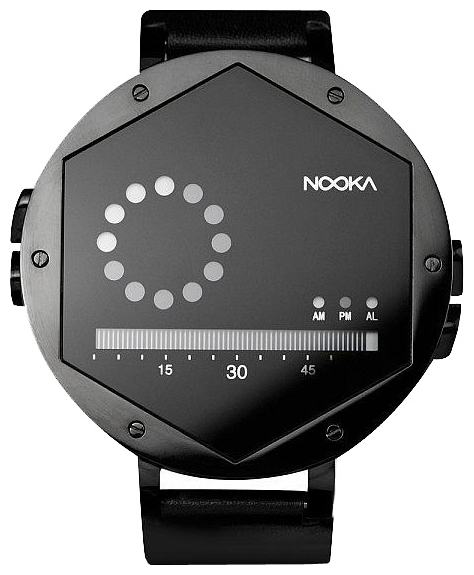 Wrist unisex watch Nooka Zex Night - picture, photo, image