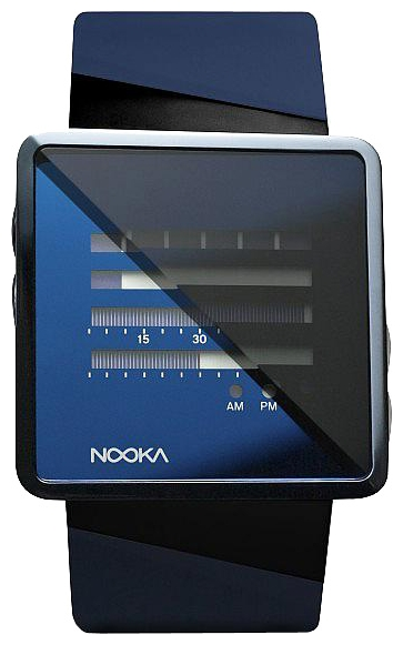 Wrist unisex watch Nooka Zizm Midnight Blue - picture, photo, image