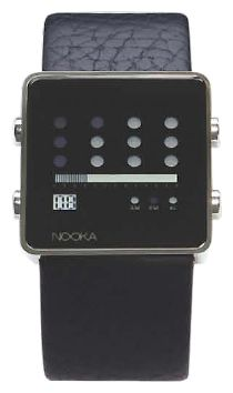 Wrist unisex watch Nooka Zot Black - picture, photo, image
