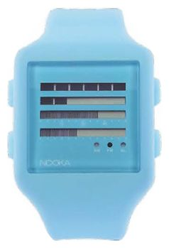 Wrist unisex watch Nooka Zub Zen-H 20 Blue - picture, photo, image