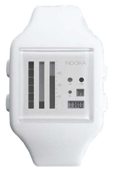 Wrist unisex watch Nooka Zub Zen-V 20 White - picture, photo, image