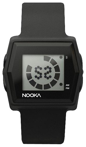 Wrist unisex watch Nooka Zub Zibi Zirc Black - picture, photo, image