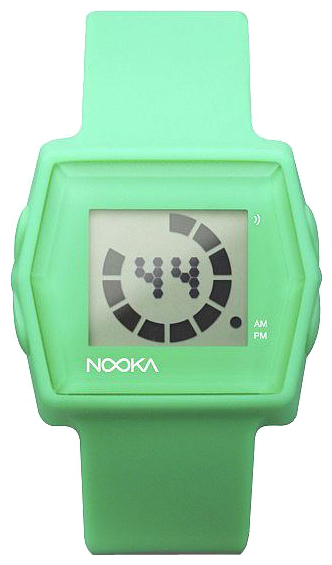 Wrist unisex watch Nooka Zub Zibi Zirc Mint - picture, photo, image