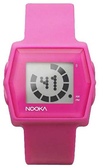 Wrist unisex watch Nooka Zub Zibi Zirc Pink - picture, photo, image