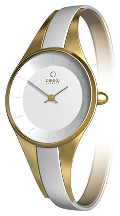 Wrist watch Obaku V110LGIRW for women - picture, photo, image