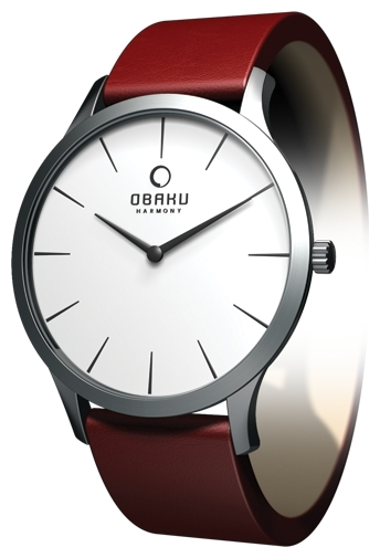 Wrist watch Obaku V112LCIRR for women - picture, photo, image