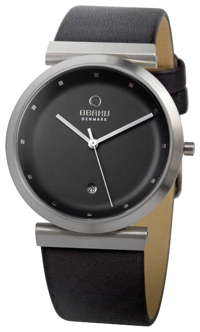 Wrist unisex watch Obaku V137UCBRB - picture, photo, image