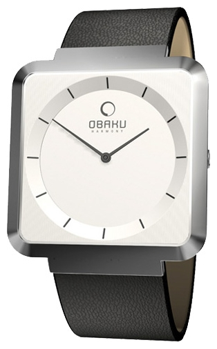 Wrist watch Obaku V139LCIRB for women - picture, photo, image