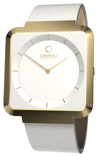 Wrist watch Obaku V139LGIRW for women - picture, photo, image