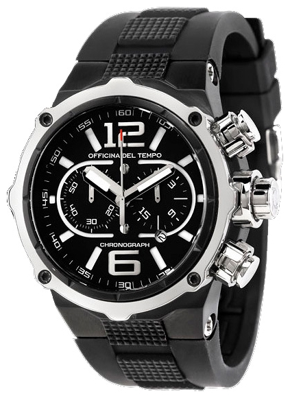 Wrist watch Officina Del Tempo OT1030-11BLACK for Men - picture, photo, image