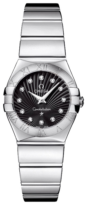 Wrist watch Omega 123.10.24.60.51.002 for women - picture, photo, image