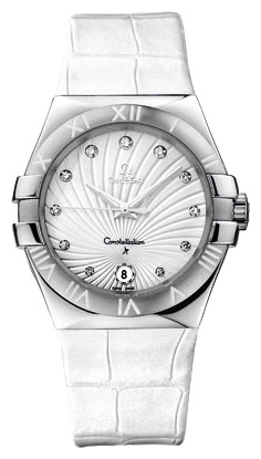 Wrist watch Omega 123.13.35.60.52.001 for women - picture, photo, image