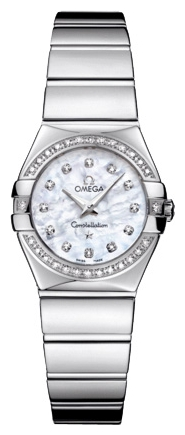 Wrist watch Omega 123.15.24.60.55.003 for women - picture, photo, image
