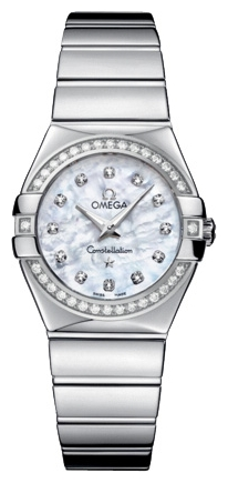 Wrist watch Omega 123.15.27.60.55.003 for women - picture, photo, image