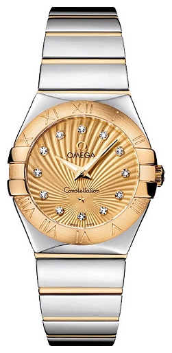 Wrist watch Omega 123.20.27.60.58.002 for women - picture, photo, image