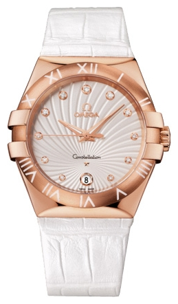 Wrist watch Omega 123.53.35.60.52.001 for women - picture, photo, image