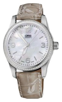 Wrist watch ORIS 733-7649-49-66LS for women - picture, photo, image