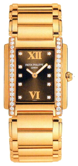 Wrist watch Patek Philippe 4908-11RB for women - picture, photo, image