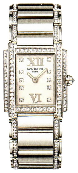Wrist watch Patek Philippe 4908-310G for women - picture, photo, image