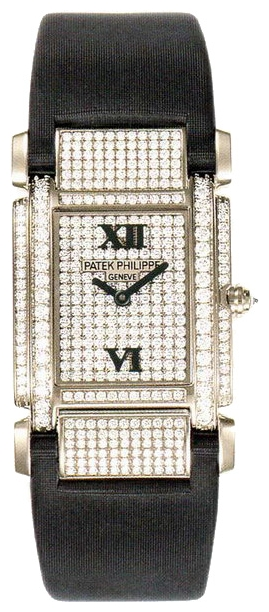 Wrist watch Patek Philippe 4910G for women - picture, photo, image