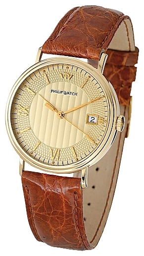 Wrist unisex watch Philip Watch 8051 181 021 - picture, photo, image