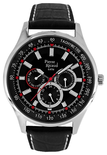 Wrist watch Pierre Ricaud P11081.5214QFR for Men - picture, photo, image