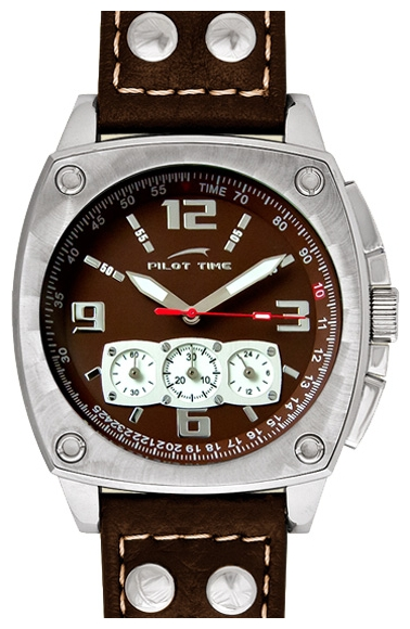 Wrist watch Pilot Time 3690873 for Men - picture, photo, image
