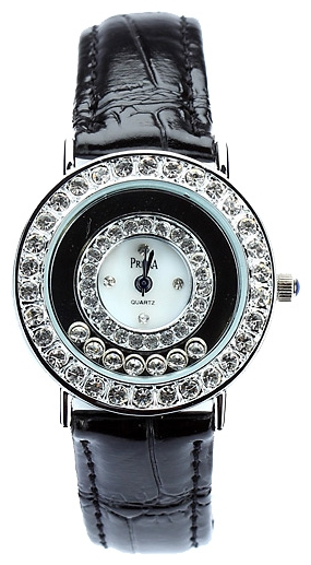 Wrist watch Prema 5164 chern/belyj for women - picture, photo, image