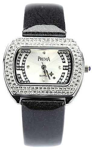 Wrist watch Prema 5208 chern/belyj for women - picture, photo, image